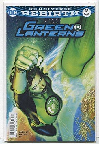Green Lanterns #32 NM Rebirth DC MD15