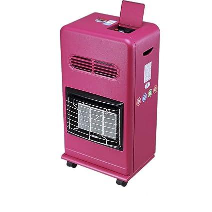 Calentador QFFL móvil para el hogar LPG Gas Natural 2 Colores Opcional Enfriamiento y calefacción (