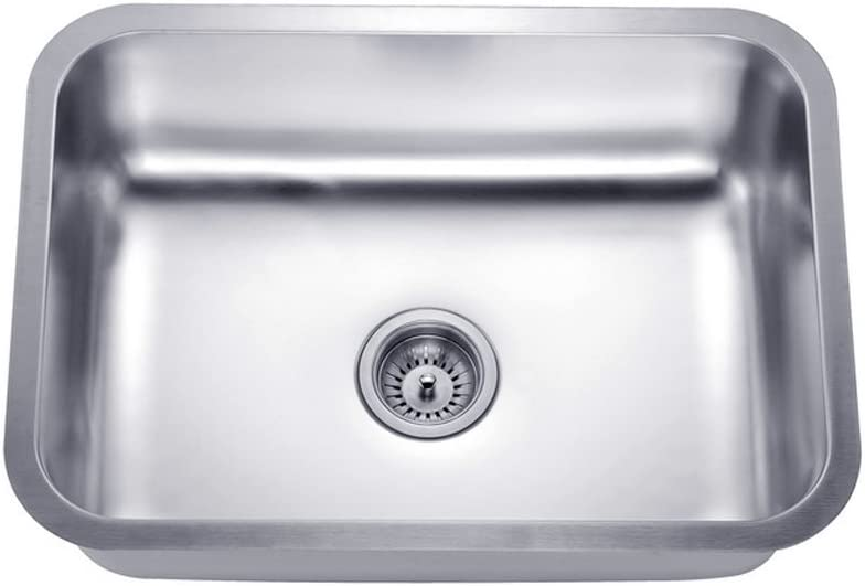 Daweier ES231609 Sink Single Bowl, 18 Gauge