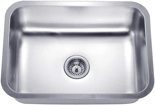 Daweier ES231609 Sink Single Bowl, 18 Gauge