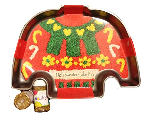 Ugly Christmas Sweater Cake Pans