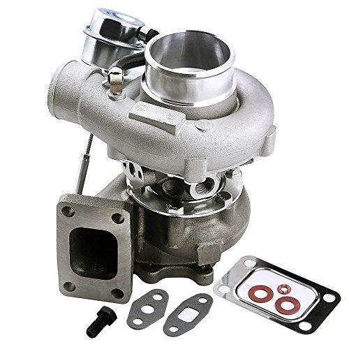 maXpeedingrods Turbo Turbocharger T3 flange for Nissan Skyline R32 R33 R34 RB20 Max 21.75PSI