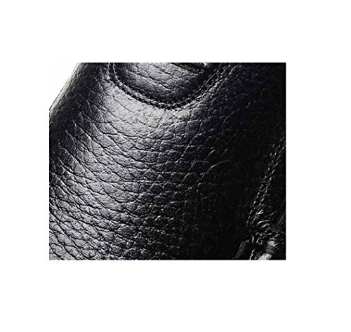 Estate Primavera Black Morbido Business in A Pelle Colori Sport A Strisce Casual Strisce Uomo A Inverno Autunno Arrotondato Scarpe da H4Oqww7