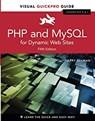 Learn PHP and MySQL programming— the quick and easy way!       Easy visual approach uses demonstrations and real-world examples to guide you step by step through advanced techniques for dynamic Web development using PHP and MySQL.    • Co...