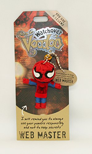 Master Keychain - Watchover Voodoo Web Master Toy Keychain/Backpack, Multicolor, X-Large/One Size