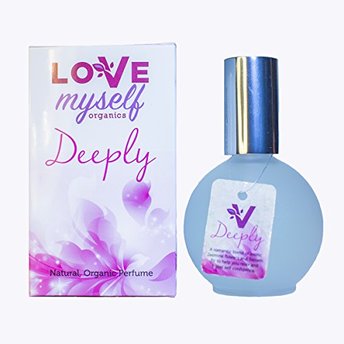 Organic and Natural Perfume, That's Actually Good for You! Organic Alcohol Based, All Natural, Organic Perfume that Smells Amazing. Great for Women and Teens. Love Myself Organics-DEEPLY - Perfume Organic