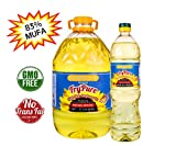 SUNVELLA FryPure High Oleic Sunflower Oil Pressed-Refined Bundle...