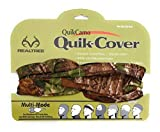 Camouflage Hunting Gear Multi-Use Quik-Cover (One Size Fits Most) (Realtree Xtra Green)
