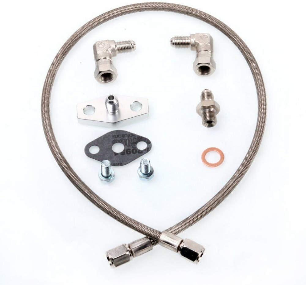 Turbo Oil /& Water Line for Nissan S14S15 Garrett T25 T28 Journal Bearing SR20DET