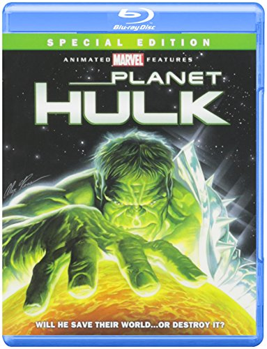 Blu-ray : Planet Hulk (Special Edition, , Dubbed, Dolby, AC-3)