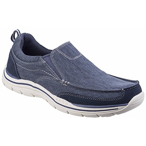 Mocassini Tomen Navy Expected Uomo Skechers Blu qpExORPnPw