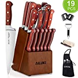 Best Chef Knife Set Professionals - AILUKI Knife Set, 21 Pieces Kitchen Knife Set Review