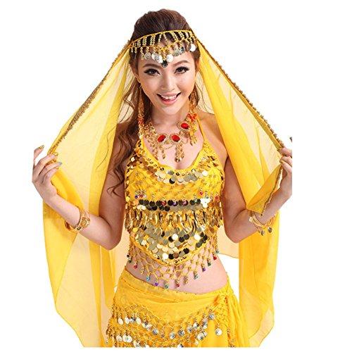 PanDaDa Belly Dance Chiffon Headband