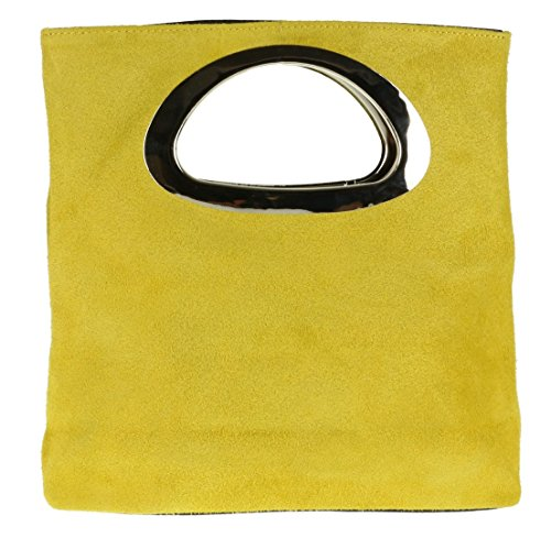femme Pochette pour Girly jaune Handbags qOZczwp