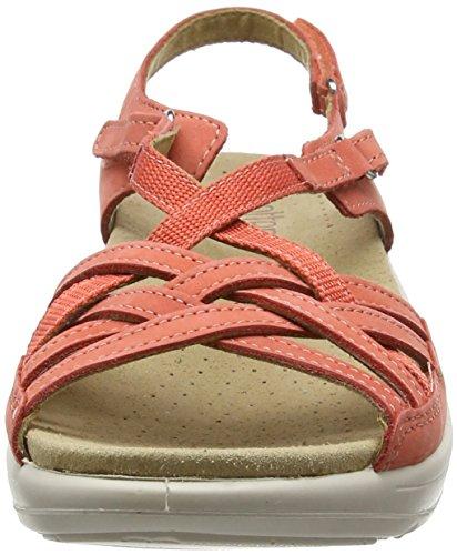 Maisie Sandalen Toe Open Heiße Frauen Coral Pink Zgwvqxn68U