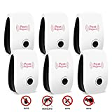 Ultrasonic Pest Repeller, ONSON 6 Pack Electronic Plug - in DOUBLE IMPACT Pest Control Ultrasonic...