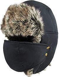 Winter Trooper Trapper Hunting Hat Aviator Winter Cap