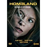 homeland - season 5 (4 dvd) box set dvd Italian Import