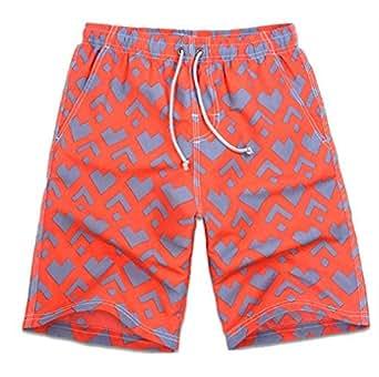 Orange Swim Short For Men