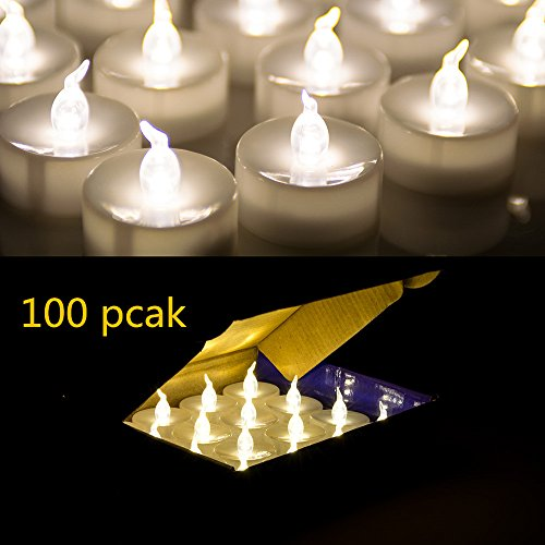 AGPtek Warm White Flameless Candles product image
