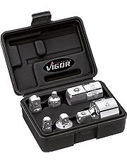 Vigor Zestaw adapterów napęd czworokątny (6,3 mm, 1/4 cala, 10 mm, 3/8 cala, 12,5 mm, 1/2 cala, 20 mm, 3/4 cala, 6-częściowy) V1293