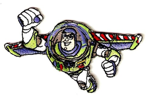 sney Toy Story Movie Embroidered Iron On / Sew On Patch ~ To Infinity and Beyond ~ space ranger ~ space suit ()