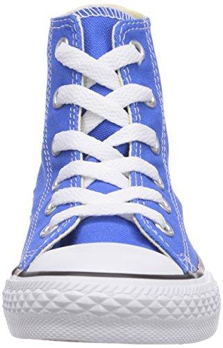 Converse Chuck Taylor All Star Hi - Zapatillas de Deporte de canvas Infantil azul - azul