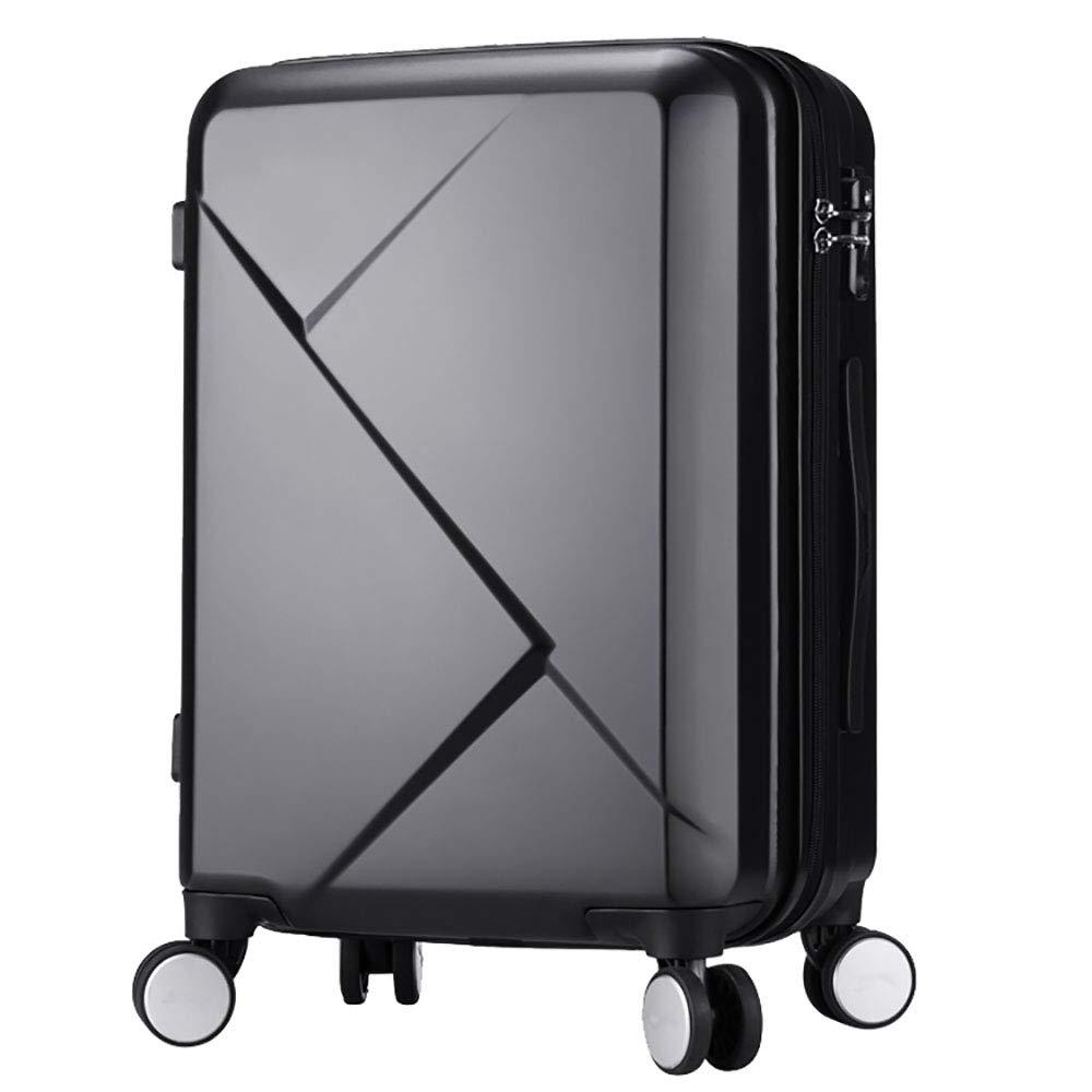 トローリー荷物キャスタースーツケース女性のジッパーパスワードボックス20インチのスーツケース男性の灰35.5 * 25.5 * 50CM B07KR9J2N1