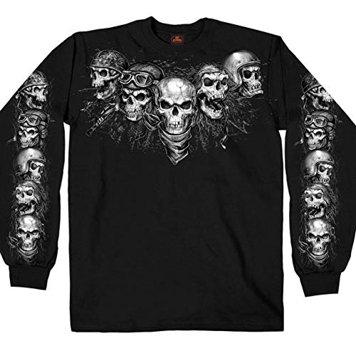 GMS2423 Black, Medium Hot Leathers Unisex-Adult T-Shirt