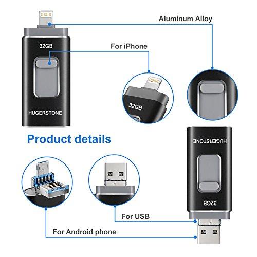 hugerstone usb stick f r iphone usb stick externer. Black Bedroom Furniture Sets. Home Design Ideas