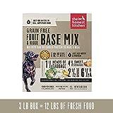 The Honest Kitchen Grain Free Fruit & Veggie Base Mix Recipe for Dogs, 3lb box
