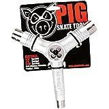 Pig Tri Socket Skate Tool and Threader White