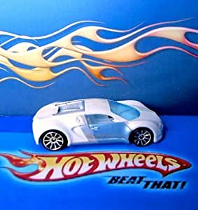 2007 mystery car series bugatti veyron ice white loose hot wheels collectible 1 64. Black Bedroom Furniture Sets. Home Design Ideas