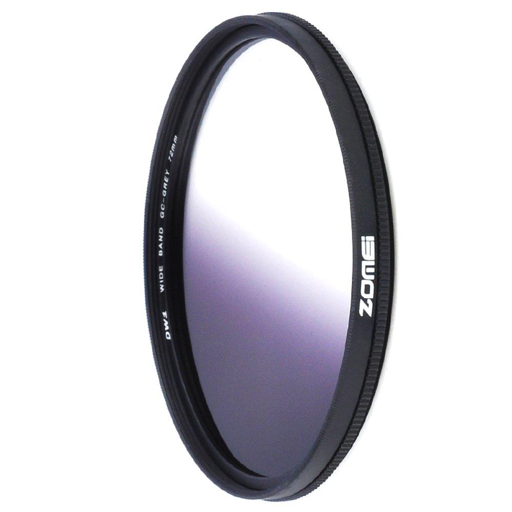 Zomei 72mm Ultra Slim Graduated Neutral Density Filter