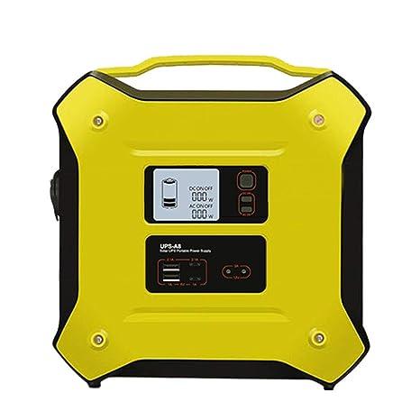 Amazon.com: Hgedz - Batería solar para generador portátil ...