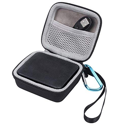 LoLa Ling Hot Portable Mini CD Bags Speakers Storage Bag Travel Portable CD Cases Cover Case Black EVA for GO/GO 2 Speaker Bags &