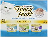 Cheap Fancy Feast Purina Grilled Seafood Feast Variety Pack, 4.5 lb