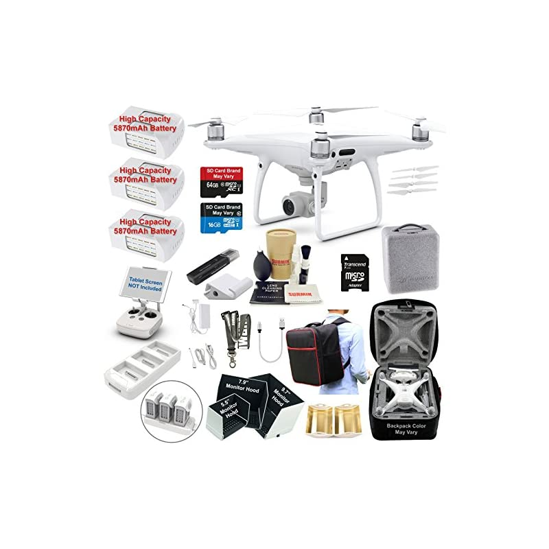 DJI Phantom 4 PRO Drone Quadcopter Bundl