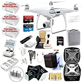 Cheap DJI Phantom 4 PRO Drone Quadcopter Bundle Kit with 3 Batteries, 4K Professional Camera Gimbal and MUST HAVE Accessories