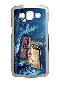 free shipping cover Treasure Underwater PC Transparent case/cover for Samsung Galaxy Grand 2/7106