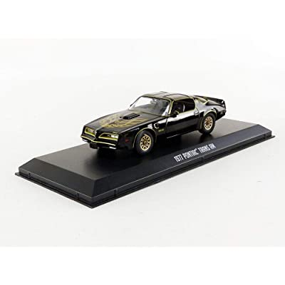 1977 Pontiac Firebird Trans Am - Smokey and The Bandit (1977), Authentic Movie Decoration, Movie Themed Packaging, Protective Acrylic Case, 1:43 True-to-Scale, Limited Edition: Toys & Games