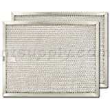 American Metal Aluminum Range Hood Filter - 8 5/8'' X 11'' X 3/8''