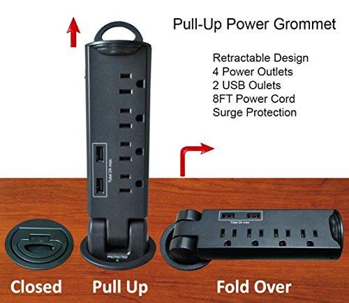 Under Desk Power Strip Amazon Com