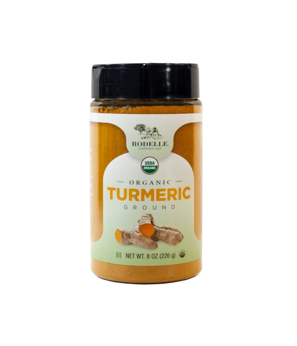 Rodelle Organic Ground Turmeric, 8 Ounce