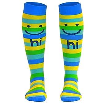 Fun Performance Compression Athletic Knee Socks   Make Me Smile   X-Small