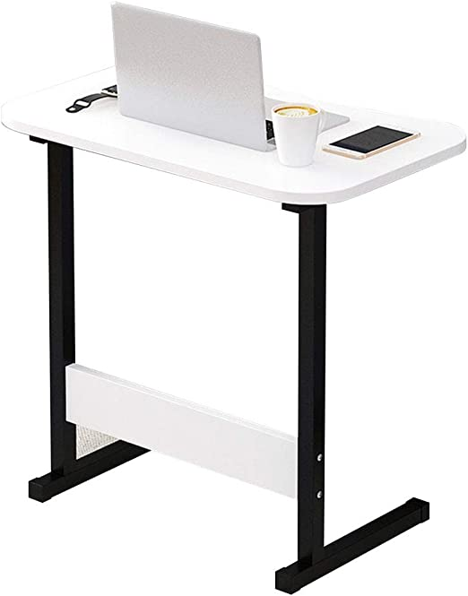 Blanco Tipo C portátil Bandeja extraíble computadora Soporte ...