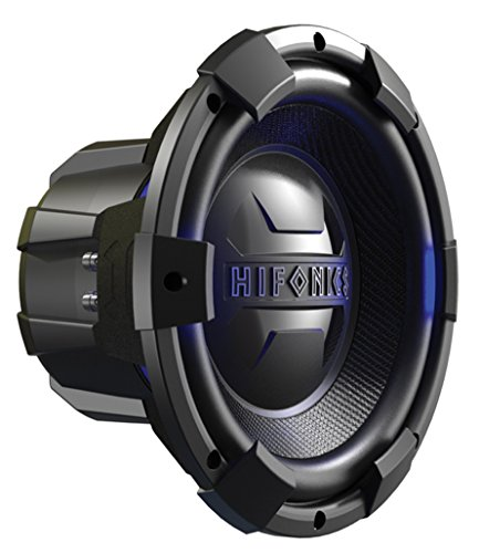 (Hifonics BRX12D4 Brutus Dual Subwoofer, 4-Ohm 450-Watt 12-Inch)
