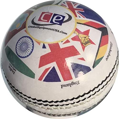 - Cricket World Cup History Cricket Ball (5.5 oz Weight)