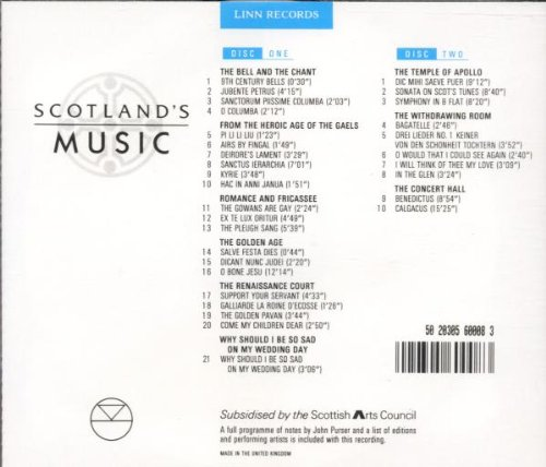 Scotland's Music by Linn Records