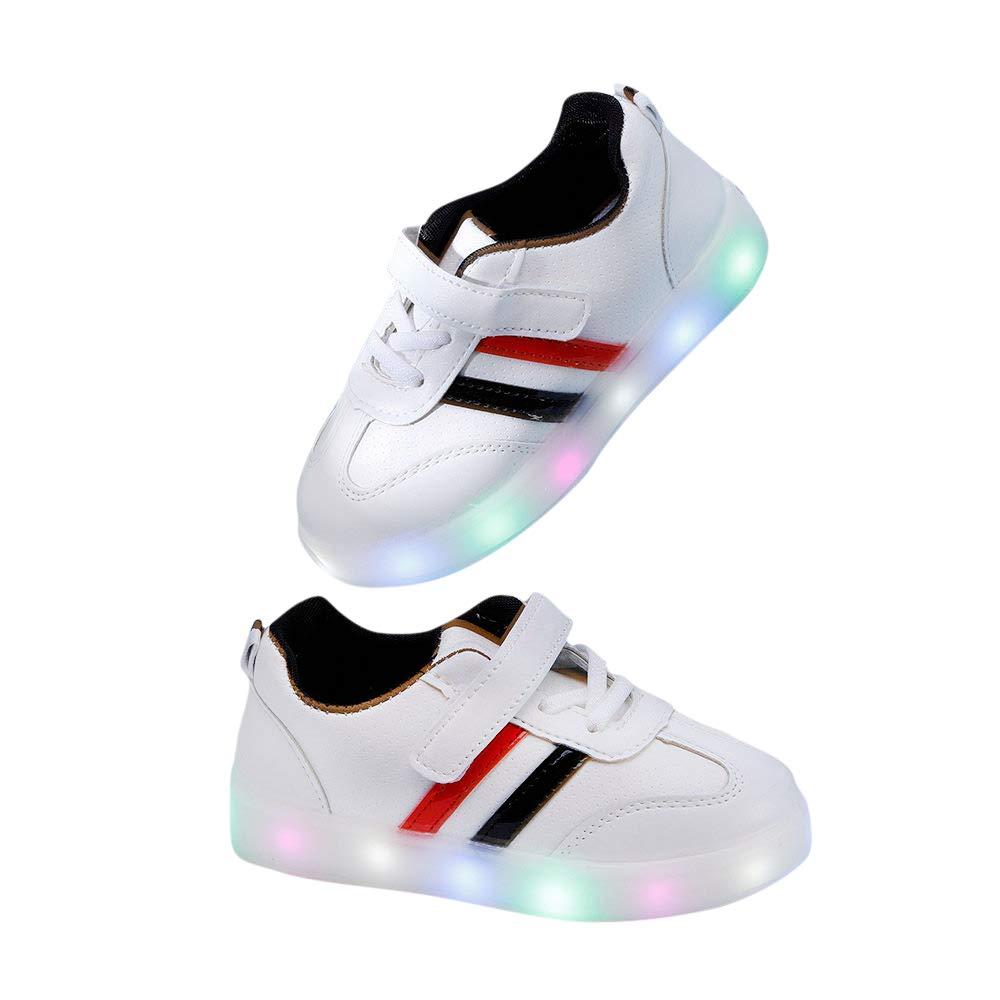 Girls Artificial PU LED Shoes